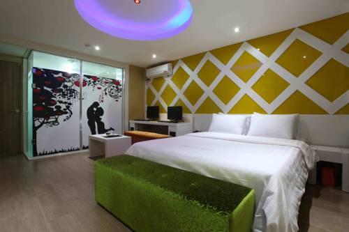 South Korea Hotel Room