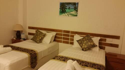 Maldives Hotel Room